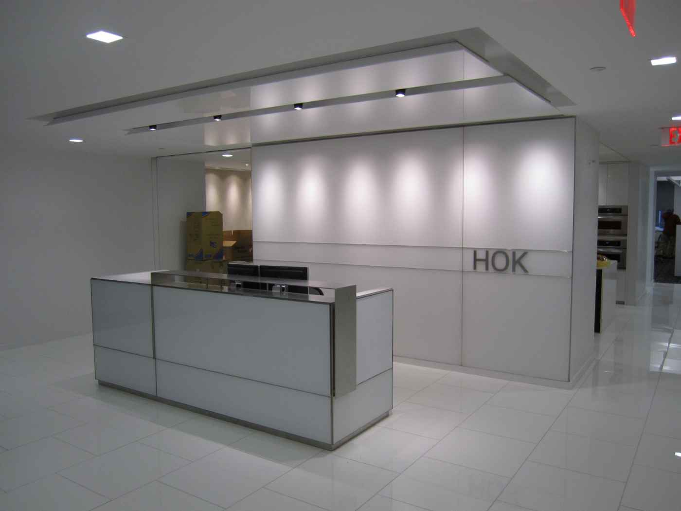 Modern HOK Reception Desk Ideas