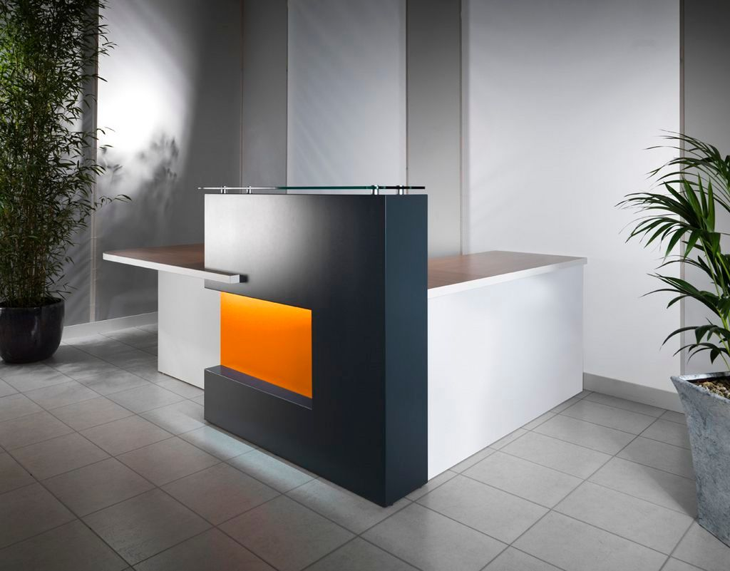 XCP Contemporary L-Shaped Reception Desk