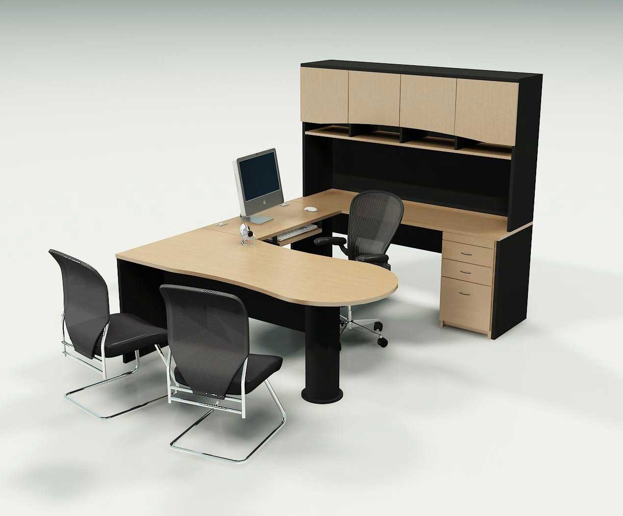Top Majestic Office Desk and Chair