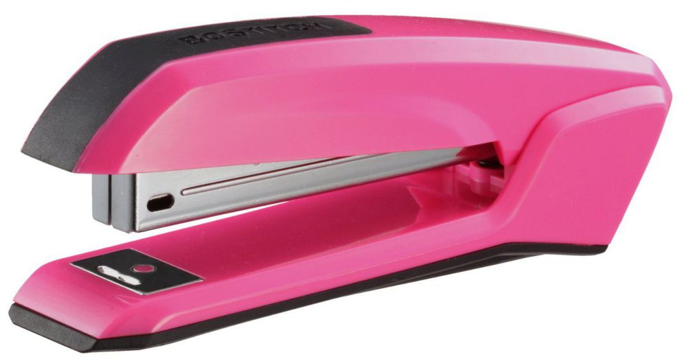 Bostitch B210R Ascend Pink Antimicrobial Stapler