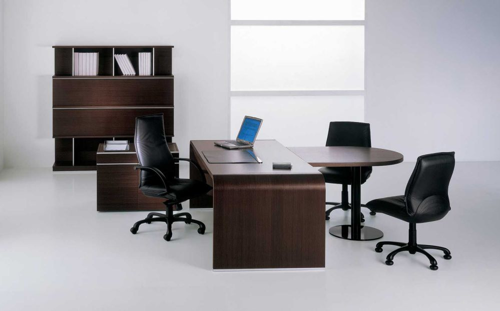 Elegant Wooden Office Furniture Sets