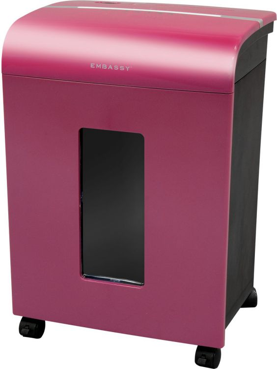 Embassy14 Sheet Micro Cut Paper Shredder LM140Pii Magenta