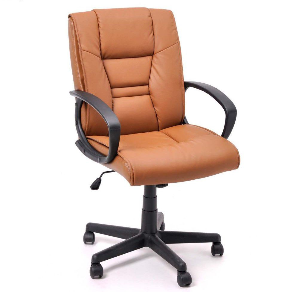 Ergonomical Adjustable Synthetic Leather Office Chair
