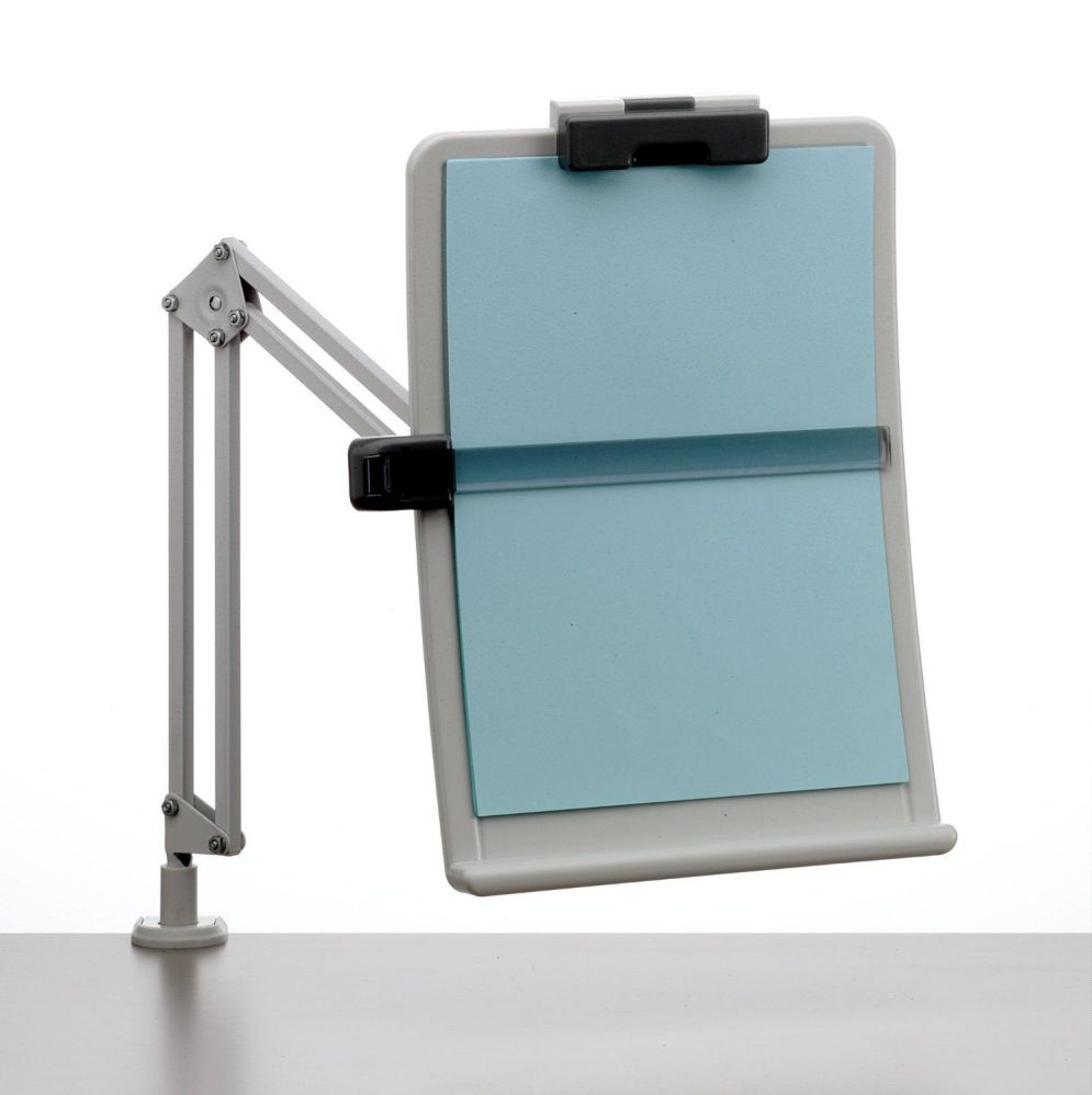 Exponent 56106 Flexible A4 Document Holder with Ergonomic Clear Height Clearance and Inclination Angle
