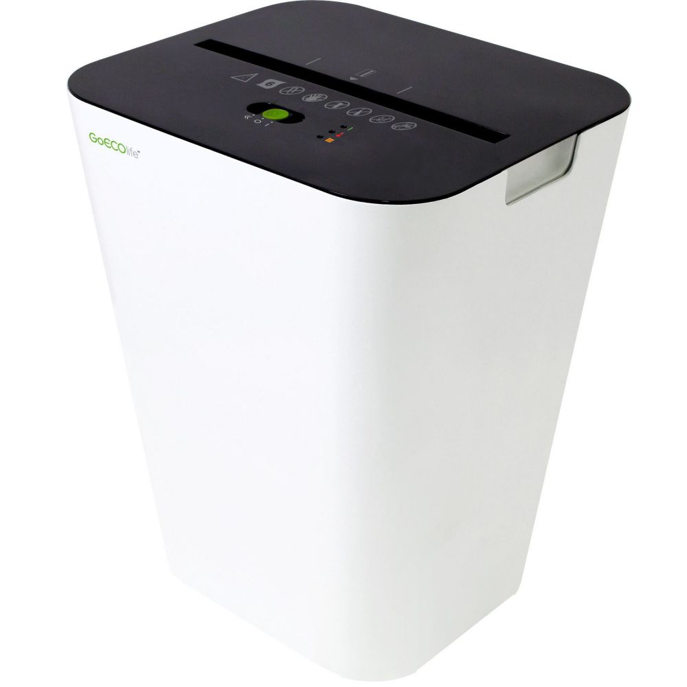 GoECOlife Soho 6 Sheet Micro-Cut Paper Shredder for Home Office