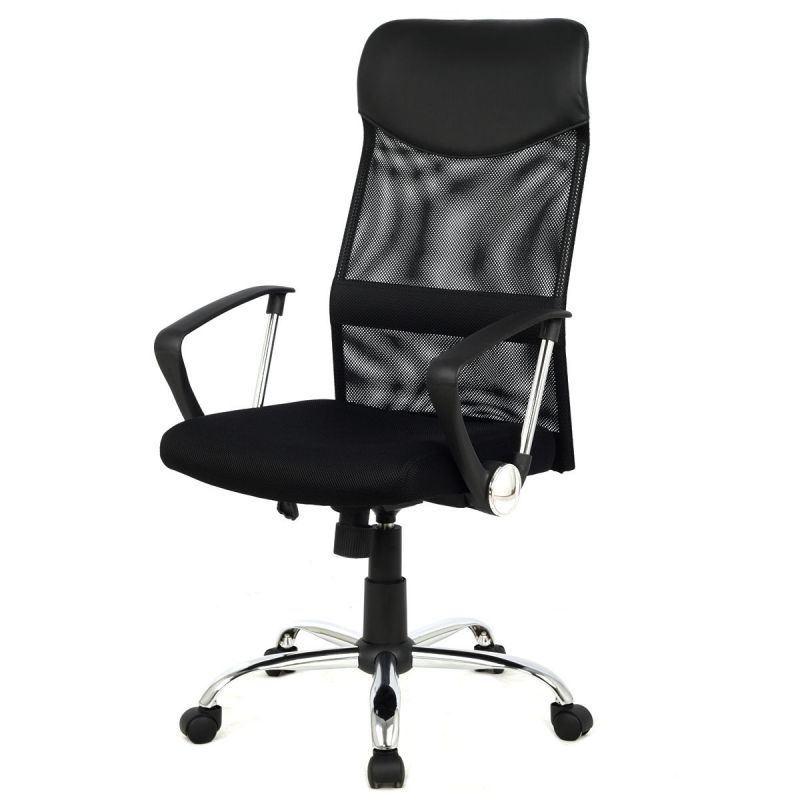 Modern Ergonomic Black High Back Mesh Office Chair