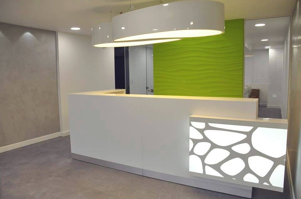 Modern Reception Desk Design Ideas