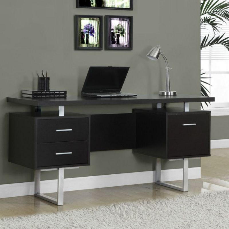 Monarch specialties narrow computer desks for small spaces