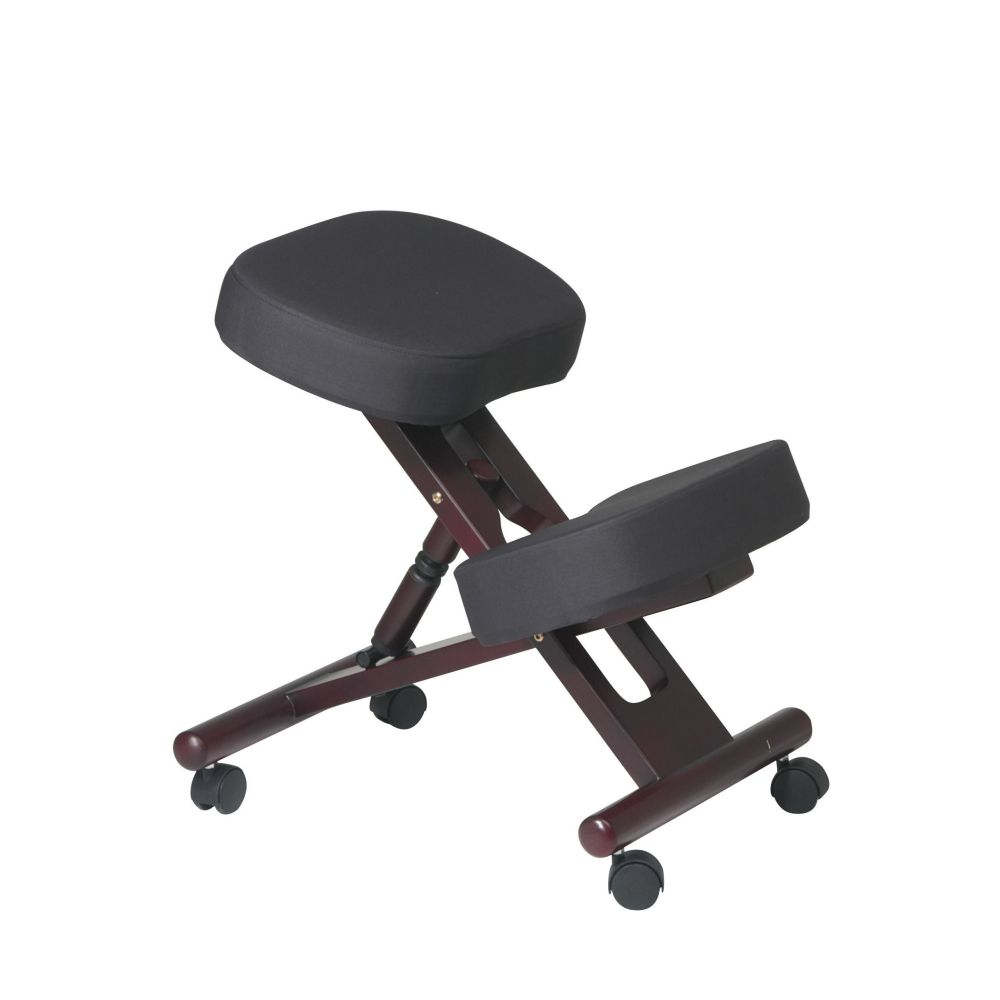 Office Star Ergonomic Kneeling Posture Office Chair with Memory Foam