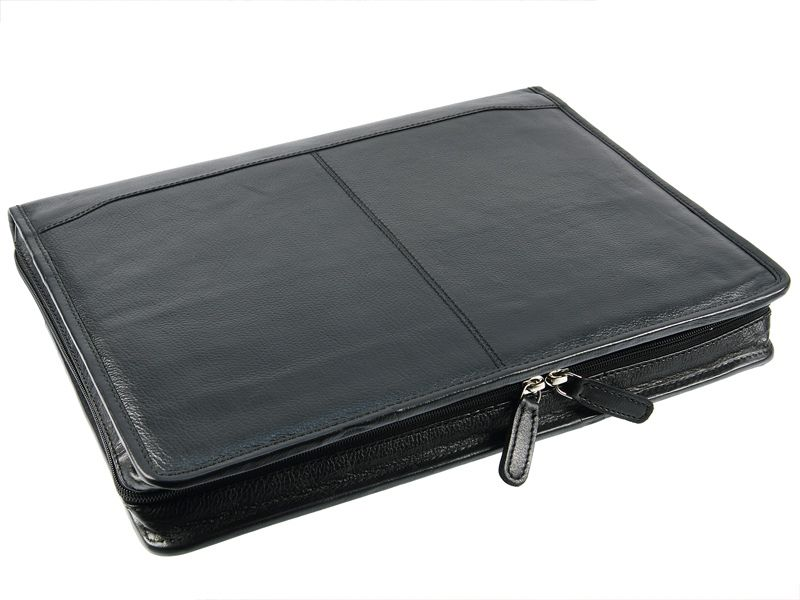 Primehide Zip Folio A4 Leather Document Holder Folder By Firelog