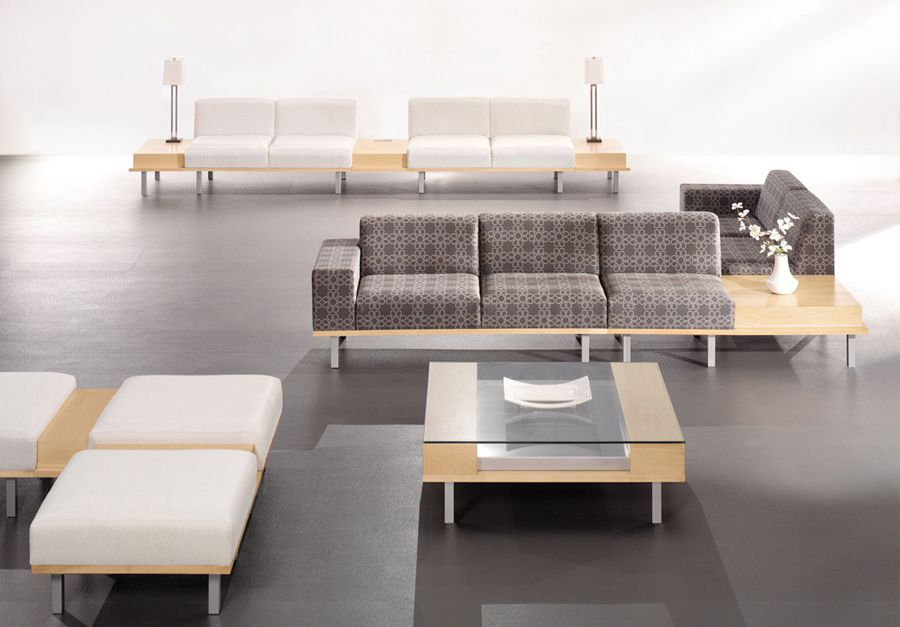 Soft look lobby furniture for home office