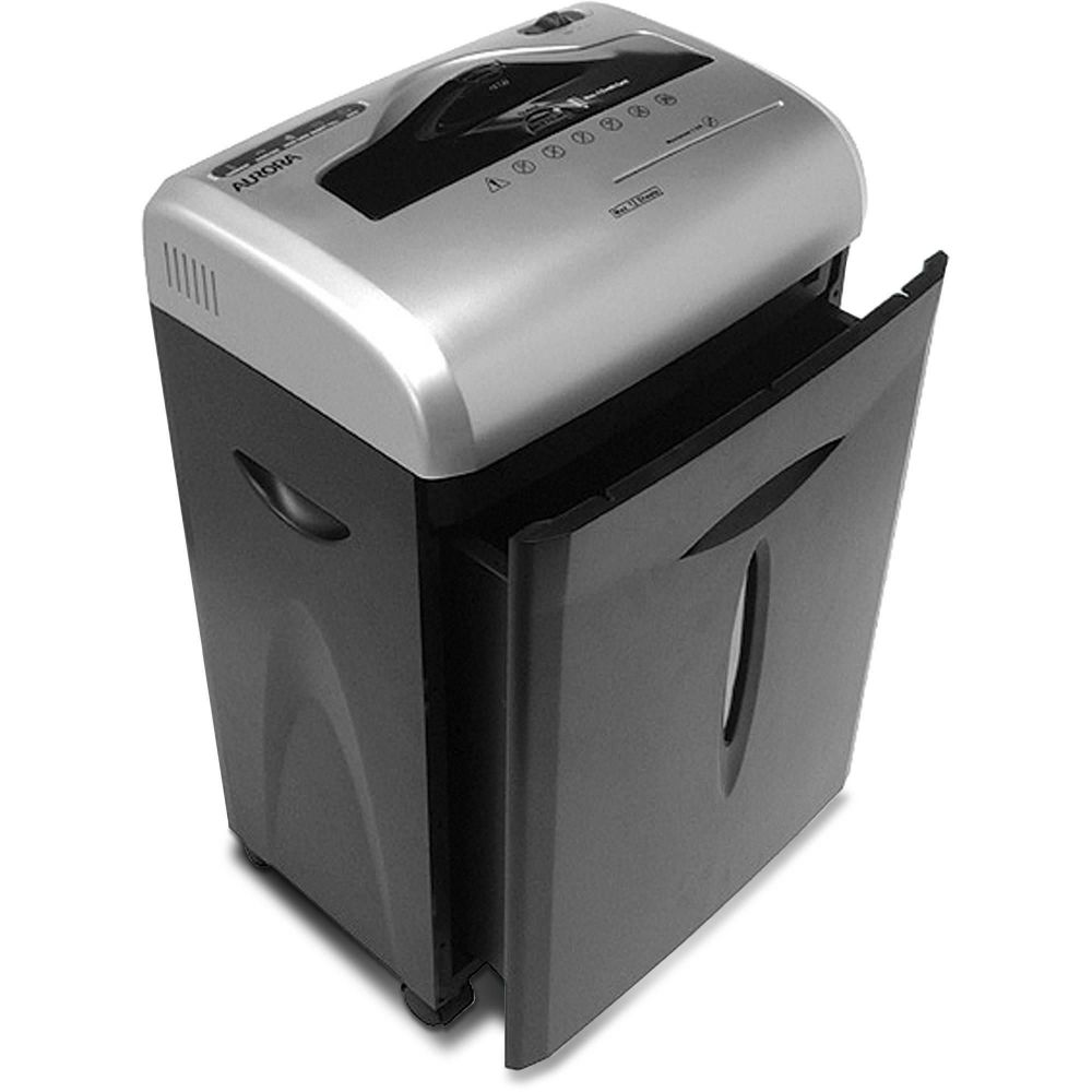 aurora 12-sheet microcut paper shredder