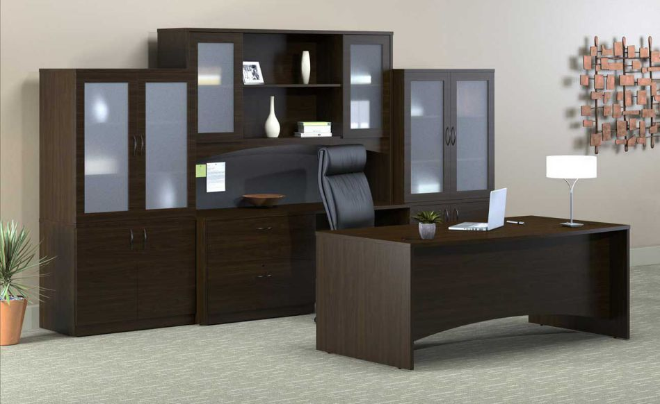 executive home office furniture set
