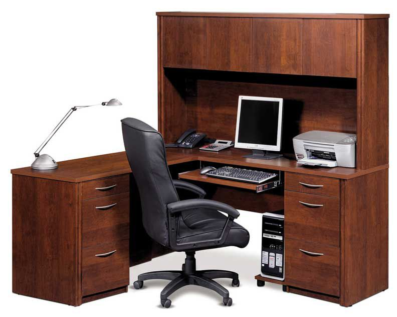 executive small home office furniture sets