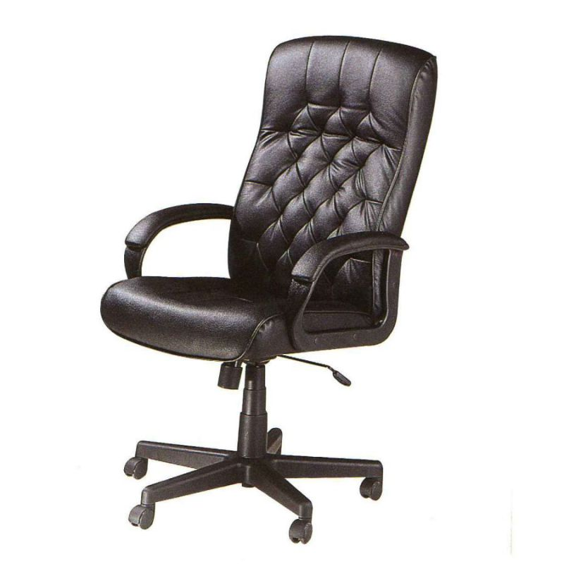 high back genuine leather comfortable work chair