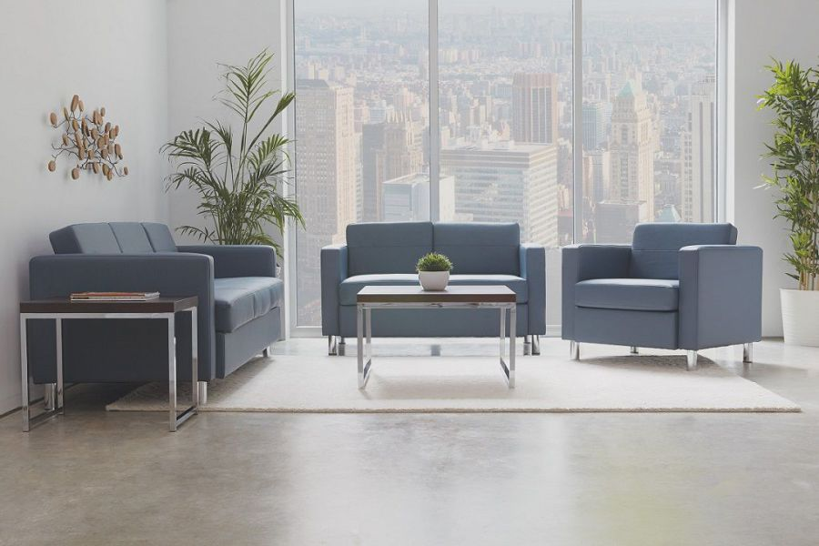 modern reception chairs design placement