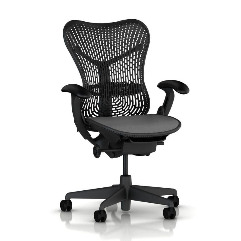 most comfortable office task chair with back mesh