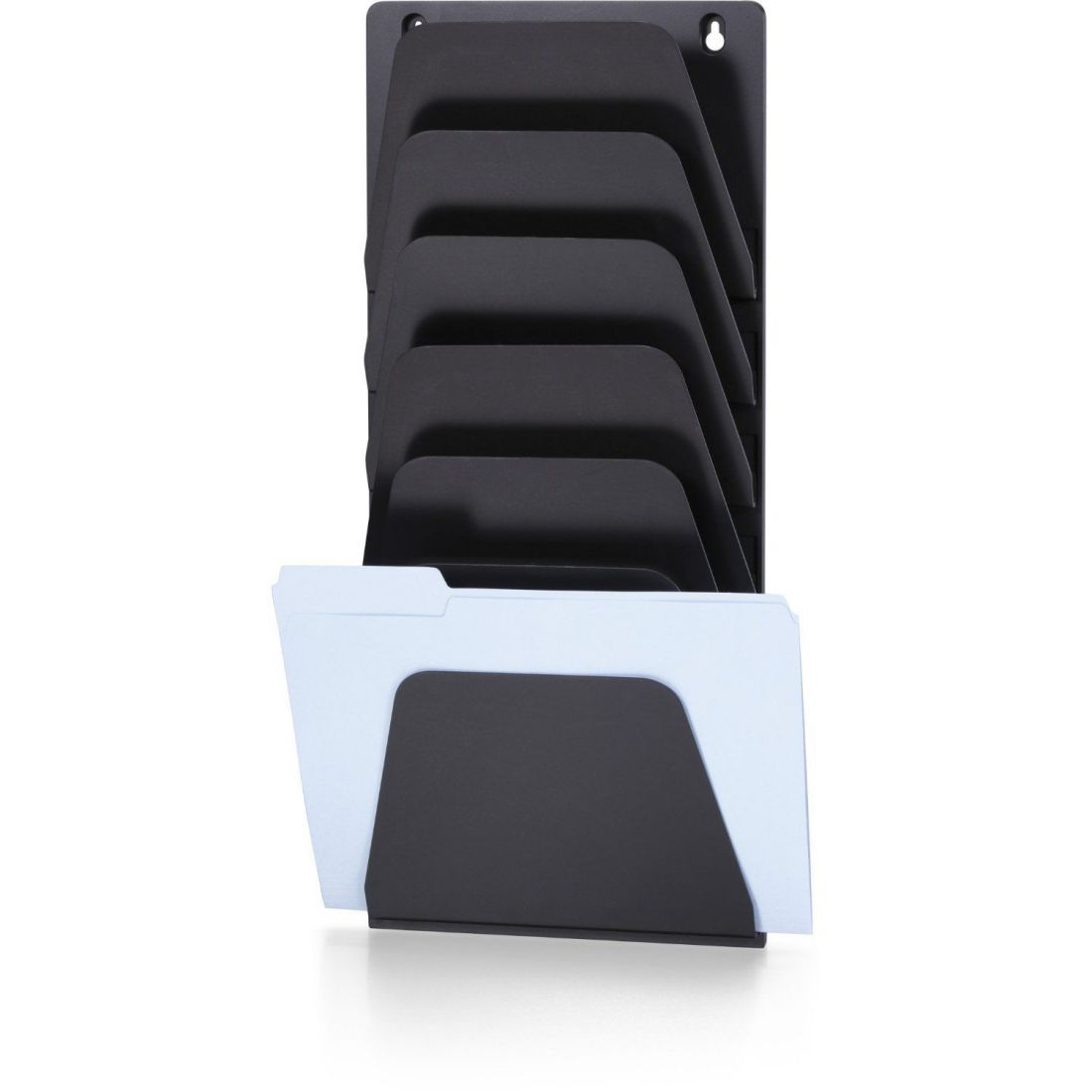 wall mounted document rack for home office