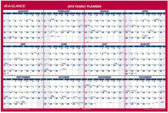 AT-A-GLANCE XL Wall Planner (PM326-28)