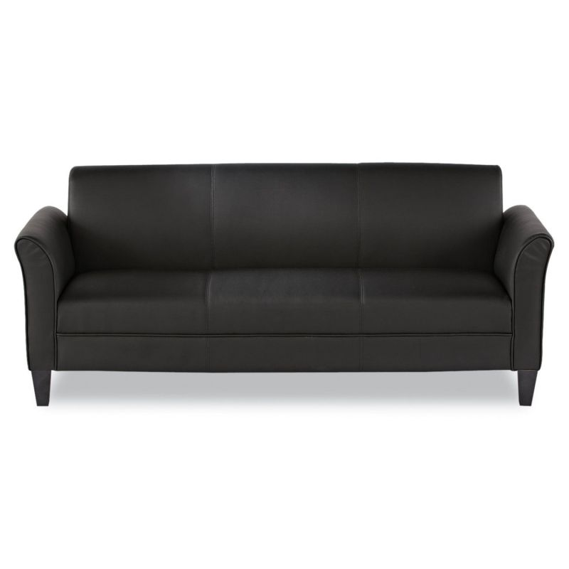 Alera RL21LS10B Reception Lounge Furniture, 3-Cushion Sofa