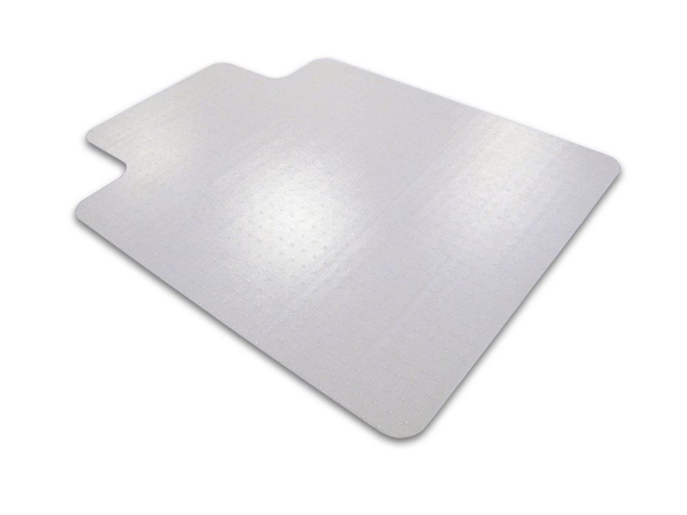 Floortex 118923LR Ultimat Polycarbonate Chair Mat for Carpets, Rectangular with Lip