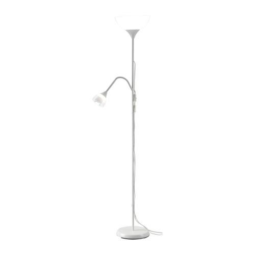 Ikea 301.451.29 Floor Uplight Reading Lamp, White