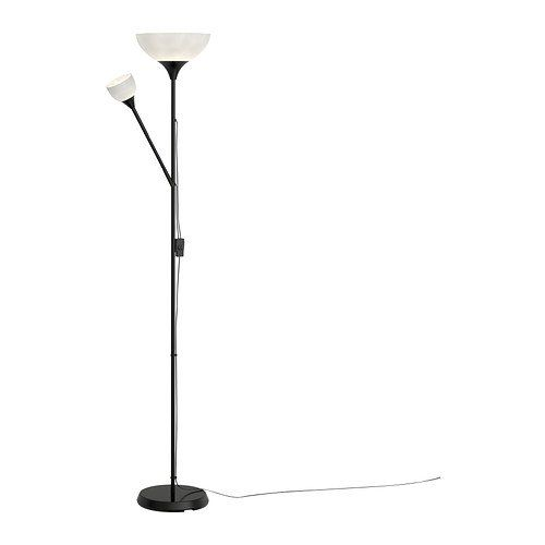 Ikea Floor Uplight Reading Lamp, 69, Black NOT 701.451.32