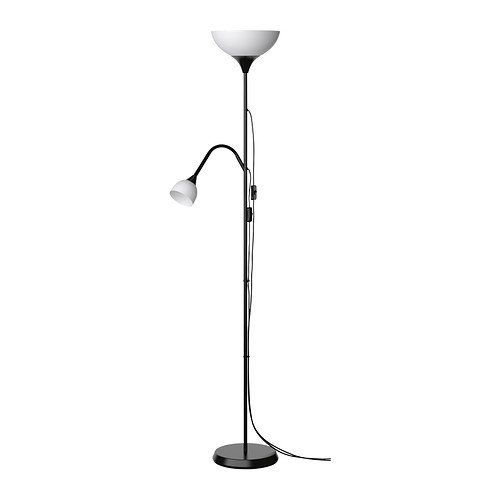 Ikea Floor Uplight Reading Lamp (White)