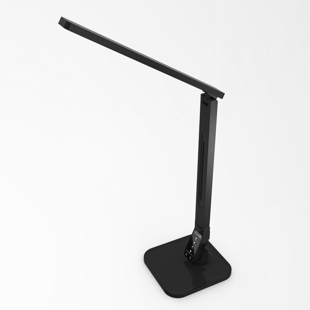 LAMPAT Dimmable LED Desk Lamp, 4 Lighting Modes Black