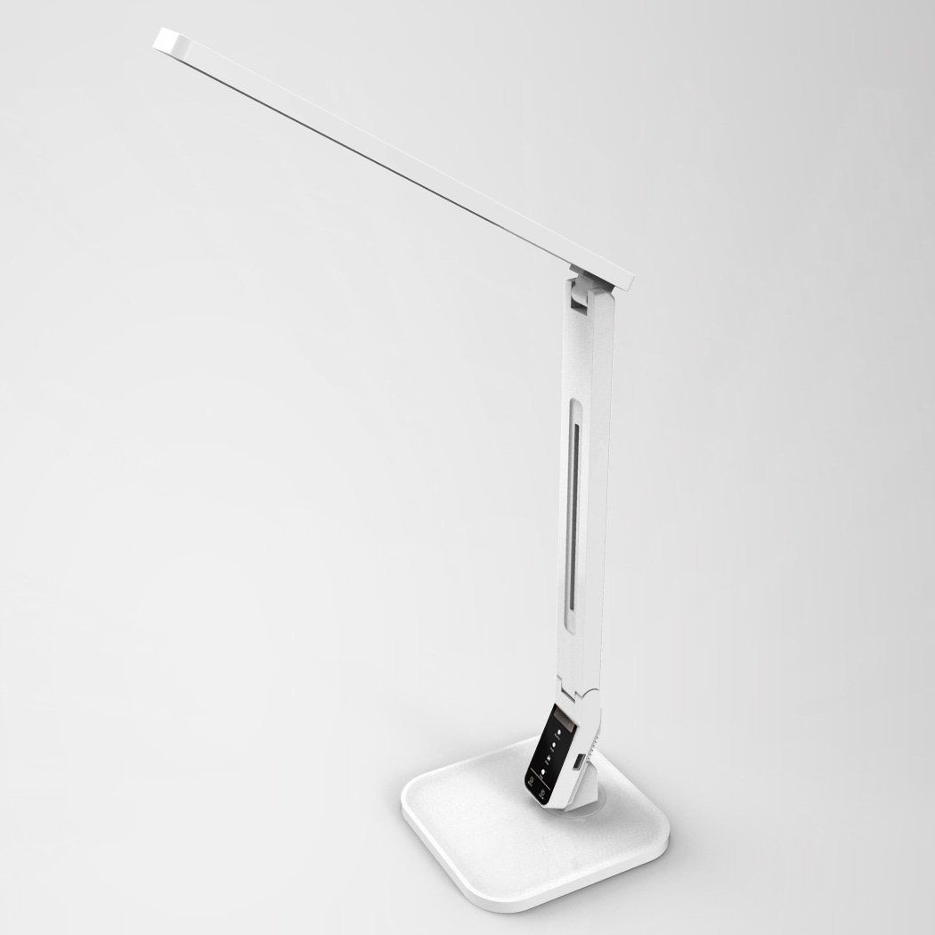 Lampat Dimmable LED Desk Lamp, 4 Lighting Modes White