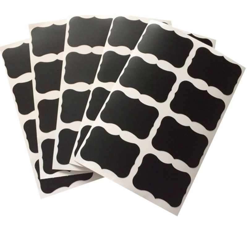 Large Chalkboard Labels Adhesive Stickers