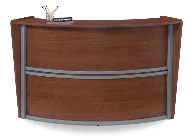 OFM 55290-CHY Marque Single-Unit Reception Station in Cherry