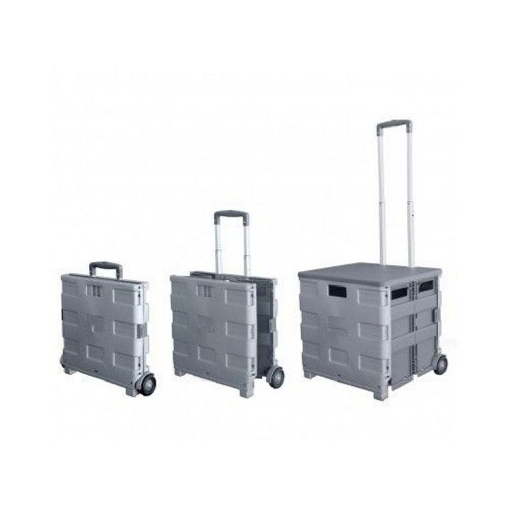 Royal Collapsible Heavy-Duty Folding Office Cart with LID