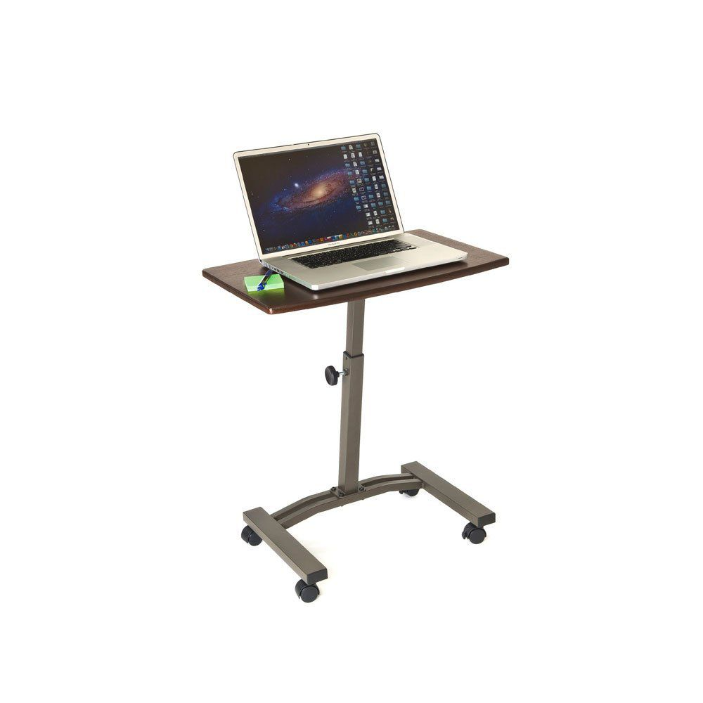 Seville Classics Mobile Laptop Desk Cart