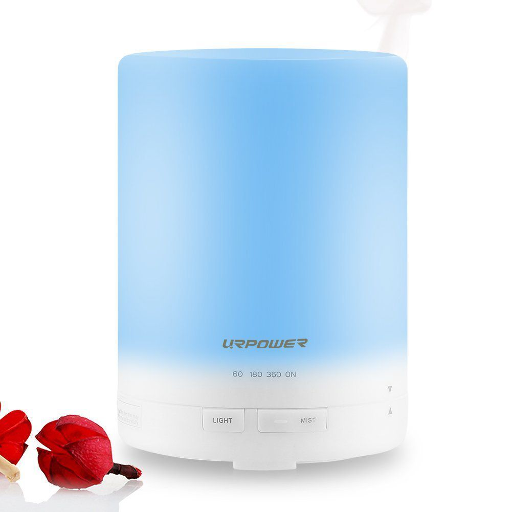 URPOWER Ultrasonic Air Humidifier with AUTO Shut off