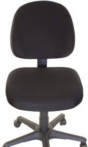 Office Chair Seat Cover Black