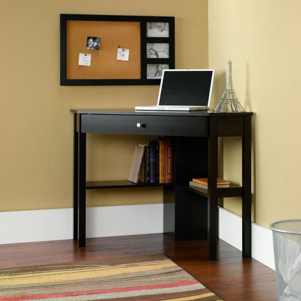 Sauder Beginnings Corner Computer Desk, Cherry