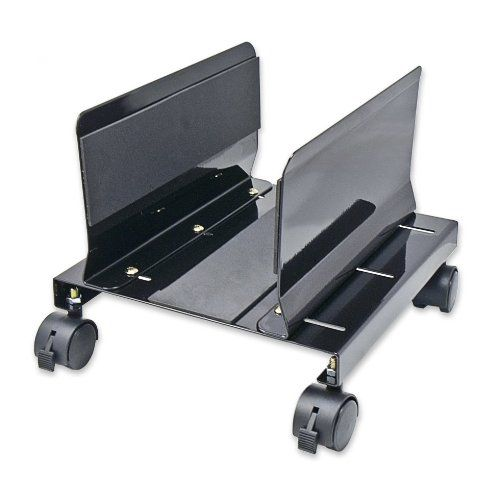 Syba Steel CPU Stand for ATX Case with Adjustable Width and 4 Caster Wheels (SY-ACC65063)